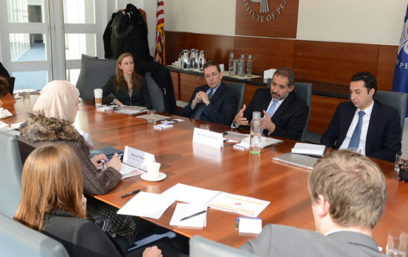 LIAS Leads Work Session with USIP