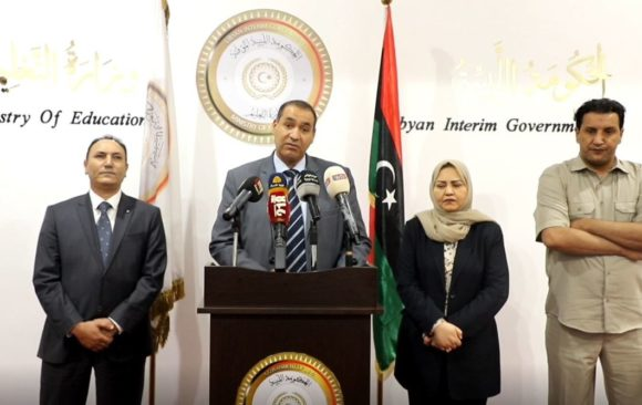 Libyan Minister of Education Acclaims the Role of LIAS and Libya's Channel in Confronting Coronavirus
